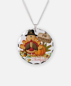 1st thanksgiving copy Necklace