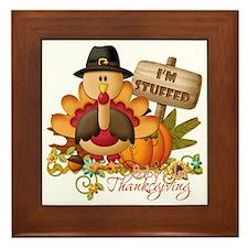 1st thanksgiving copy Framed Tile
