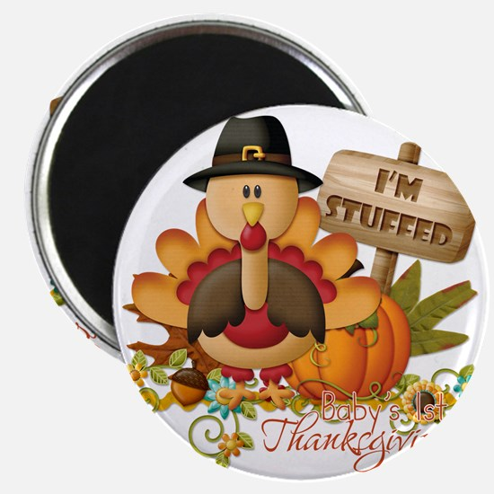 1st thanksgiving copy Magnet