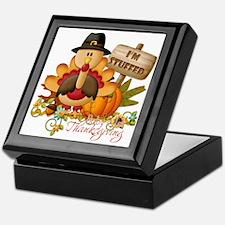 1st thanksgiving copy Keepsake Box