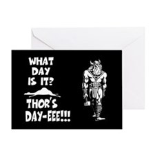Thor's Day-eee!!! Greeting Card