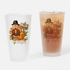 thanksgiving copy Drinking Glass