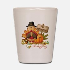 thanksgiving copy Shot Glass