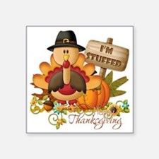 "thanksgiving copy Square Sticker 3"" x 3"""