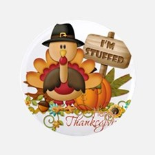 "thanksgiving copy 3.5"" Button"