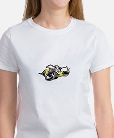Super Bee White PNG Tee