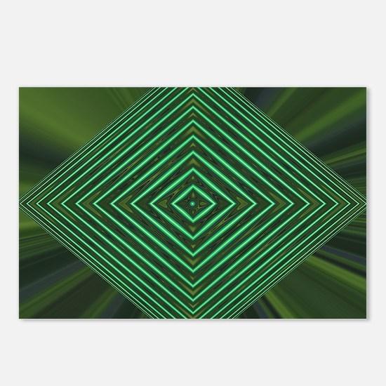 Jade Web Postcards (Package of 8)