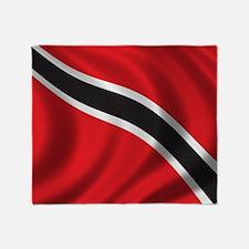 trinidad_flag Throw Blanket