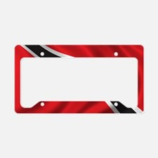 trinidad_flag License Plate Holder