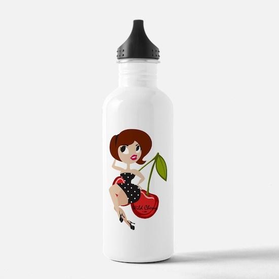Wild Cherry Lady Water Bottle