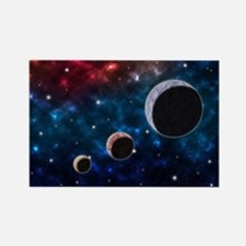 Cute Astronomy elements Rectangle Magnet