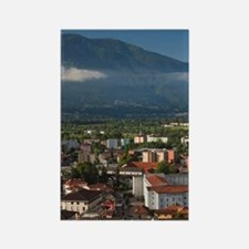 Switzerland, Ticino Canton, Locar Rectangle Magnet