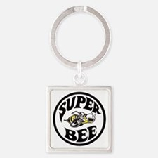 Super Bee PNG Square Keychain