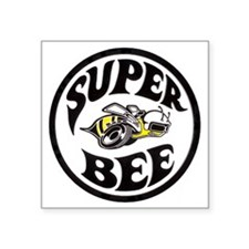 "Super Bee PNG Square Sticker 3"" x 3"""