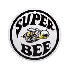 Super Bee PNG Round Ornament