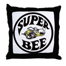 Super Bee PNG Throw Pillow