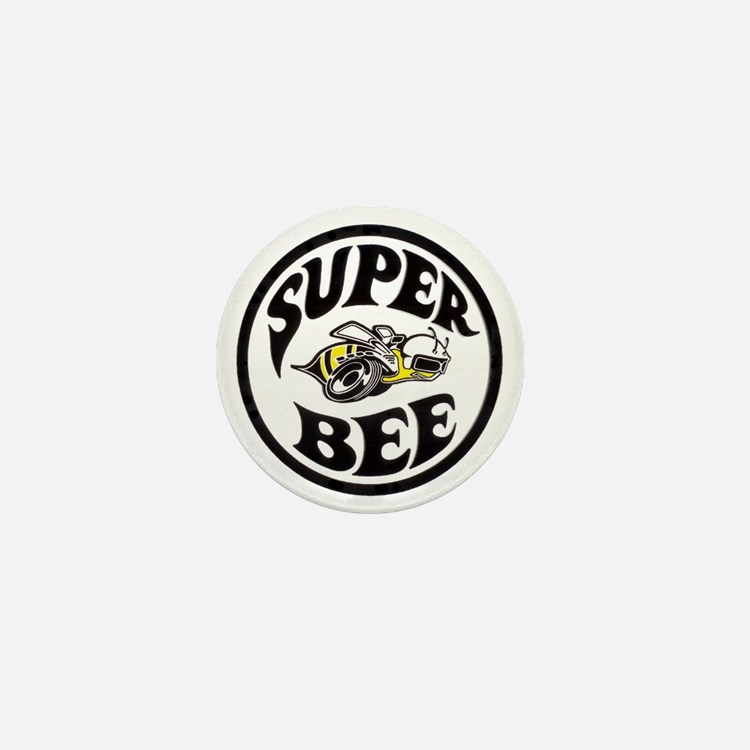 Super Bee PNG Mini Button