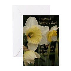 Daffodil Clouds Greeting Cards (Pk of 10)