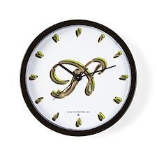 Phyllis Initial N Wall Clock