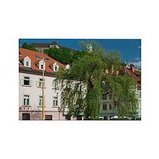 Ljubljana (Slovenian Capital): Bu Rectangle Magnet