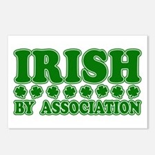 Irish by Association Postcards (Package of 8)