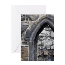 Old stone doorway near St. Andrews C Greeting Card