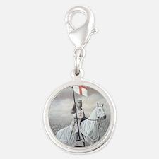 knights_templarHORSE Silver Round Charm