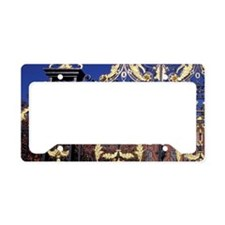 England, London. Gilded gate  License Plate Holder