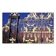 England, London. Gilded gate o Decal