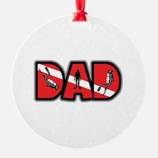 SCUBA Dad Ornament
