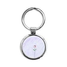 Kaci Round Keychain