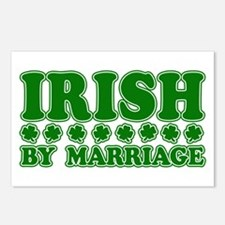 Irish by Marriage Postcards (Package of 8)