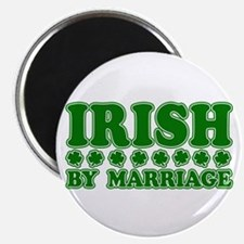 """Irish by Marriage 2.25"""" Magnet (10 pack)"""