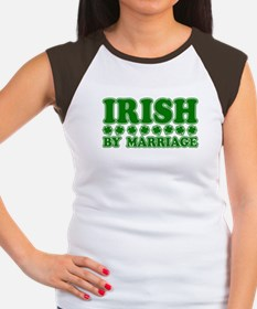 Irish by Marriage Women's Cap Sleeve T-Shirt