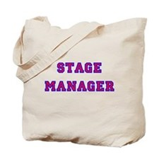Stage Manager 2 Tote Bag