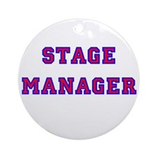 Stage Manager 2 Ornament (Round)