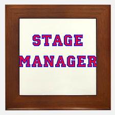 Stage Manager 2 Framed Tile