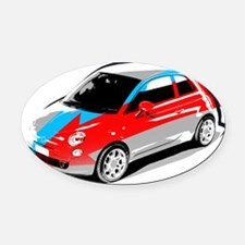 500 Style Oval Car Magnet