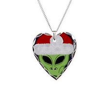 Xmas hat Alien iPhone case Necklace