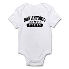 San Antonio Texas Infant Bodysuit