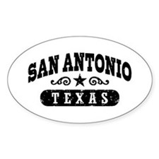 San Antonio Texas Decal