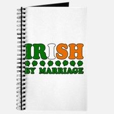 Irish by Marriage Tricolor Journal