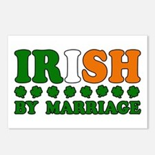 Irish by Marriage Tricolor Postcards (Package of 8