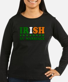 Irish by Marriage Tricolor T-Shirt