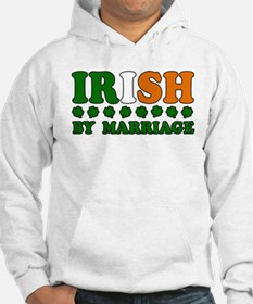 Irish by Marriage Tricolor Hoodie