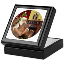 R-Santa-ShetlandPONY Keepsake Box
