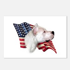 Dogo Flag Postcards (Package of 8)