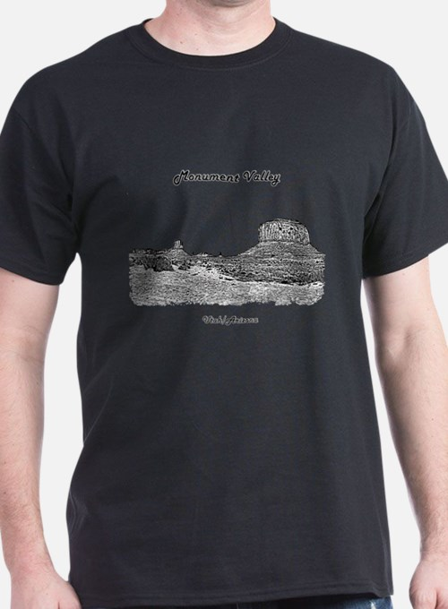 B@W Monument Valley T-Shirt