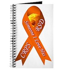 Someone I Love has CRPS -HR- Orange Ribbon Journal