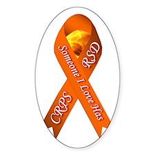 Someone I Love has CRPS -HR- Orange Decal